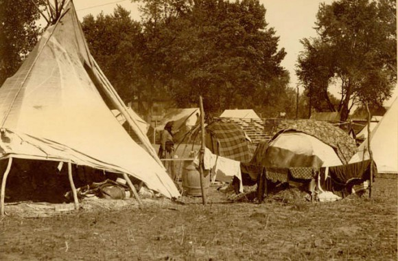 Ponca camp 1898