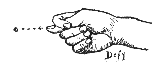 Plains Sign Talk: 'defy'