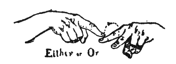 Plains Sign Talk: 'either, or'