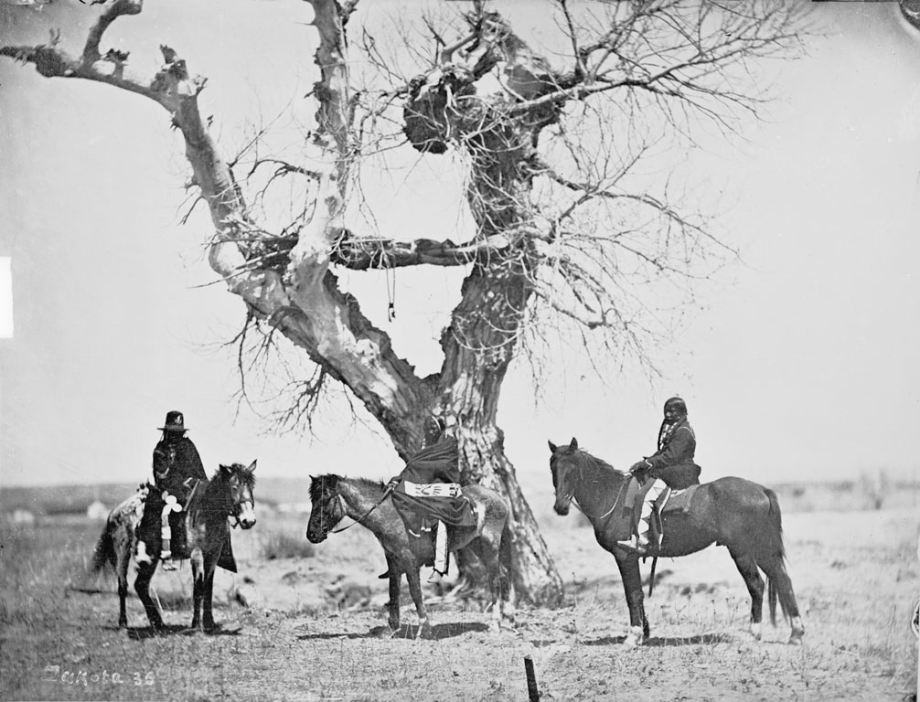 Tree Burial of the Oglala Sioux